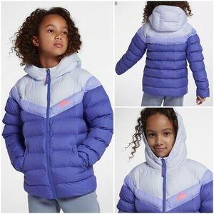 NIKE Sportswear Synthetic Fill Girls Winter Jacket